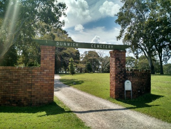 North Stradbroke Island, Australien: Dunwich Cemetery