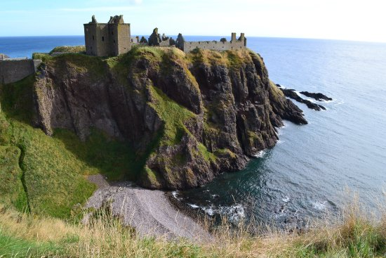 Stonehaven, UK: Photo taken from the cliff side