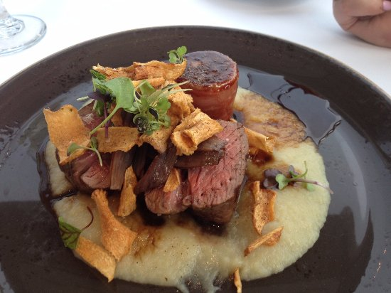 Cronulla, Australia: The lamb is brilliant. For those who arn't into fish or heavy steaks.