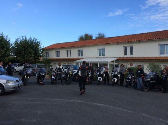 Medis, ฝรั่งเศส: Sur le depart..!