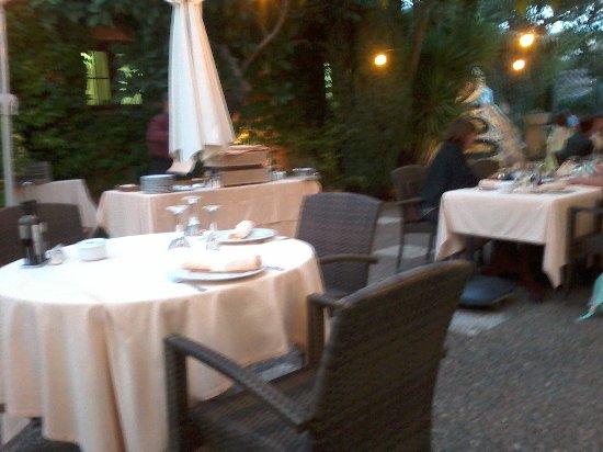 Mas Romeu Restaurante : terrasse