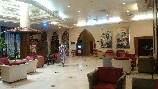 Azalai Hotel Salam: ロビー