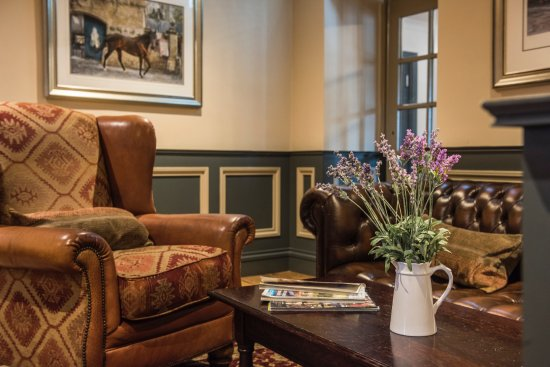 Lauder, UK: The racing room - relax on the sofa & chairs