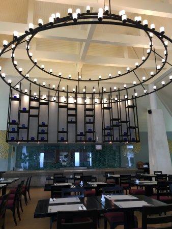 Lotus Restaurant : Restaurant seating