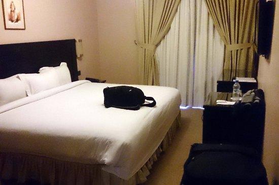 Hotel Almas: 單人房。