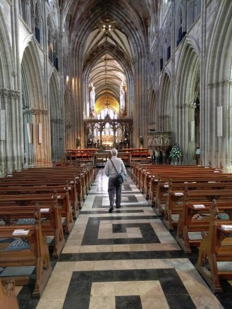 Worcester, UK: The beautiful nave