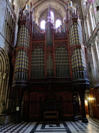 Worcester, UK: The Old organ