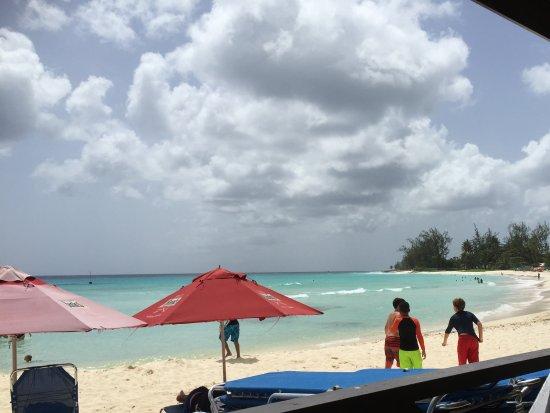 Worthing, Barbados: Beach views