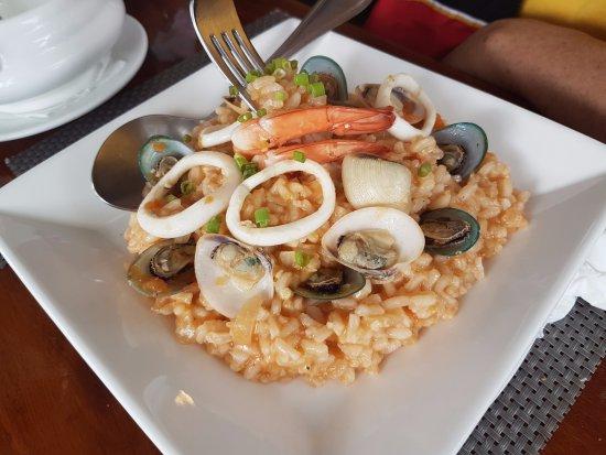 Buon Giorno: Seafood risotto