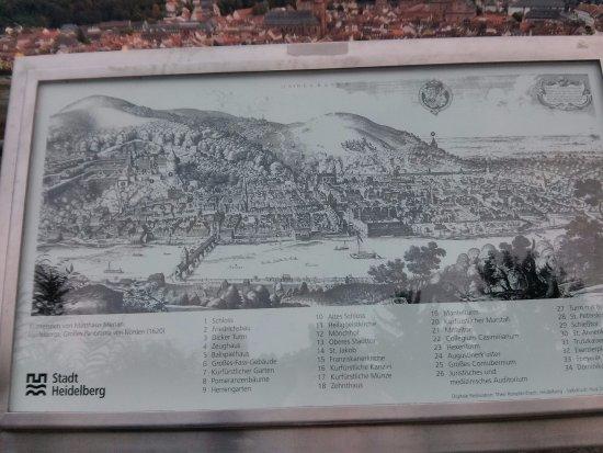 История Picture of Philosophers Way Philosophenweg Heidelberg