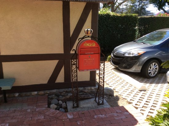 Solvang, CA: The cute Post Box