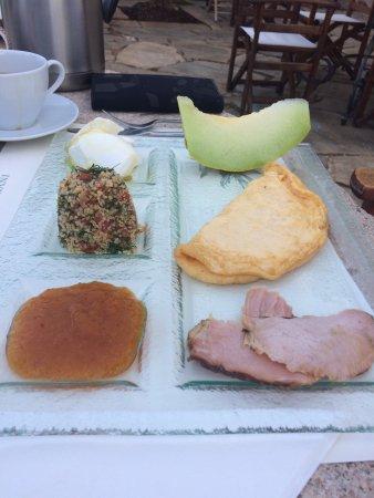 Koita, Grecia: breakfast!