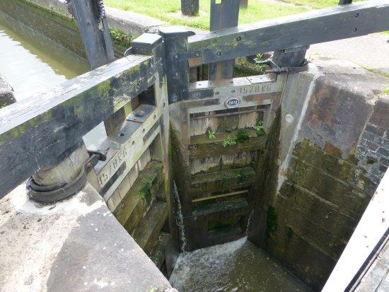 Middlewich, UK: a very old locke