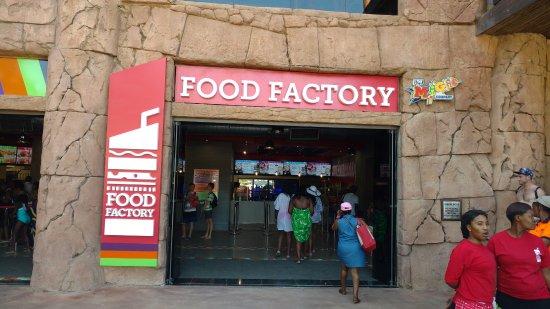 food factory external view