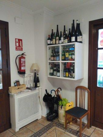 Olaberria, España: A la entrada del hotel
