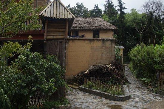 Yangyuan County, Κίνα: Resto kecil persinggahan makan