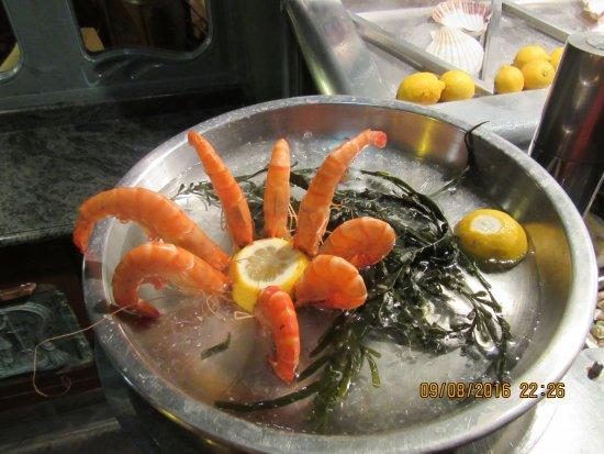 le petit zinc sea food arrangement