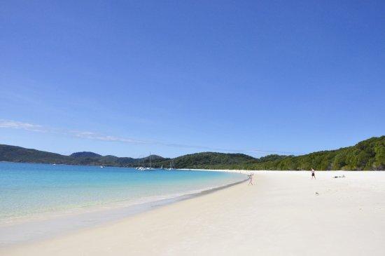 Qualia Resort: whiteheaven beach