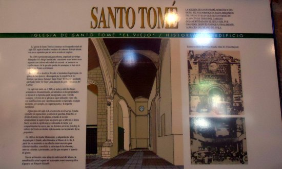 Provincia de Ávila, España: Santo Tomé el Viejo