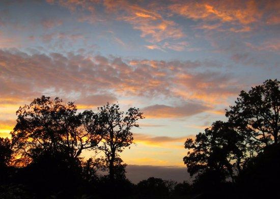 Alpine Park Cottages: Evening Sky