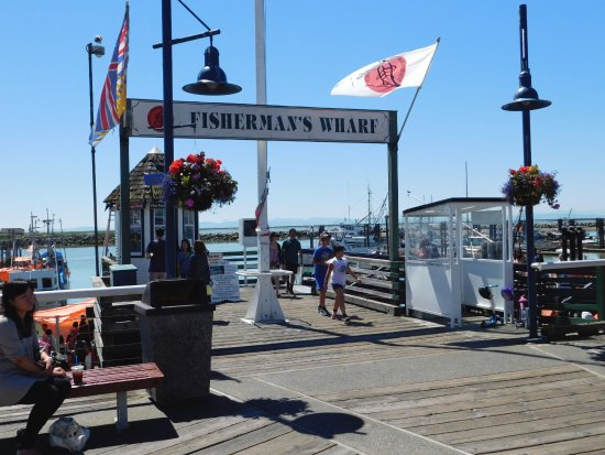 Richmond, Canadá: Fisherman's Wharf at Steveston.