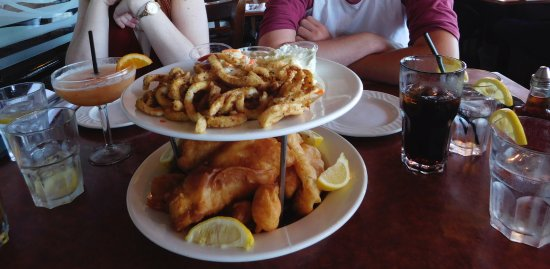 Richmond, Canada: Plenty of restaurants to choose from with generous seafood options.