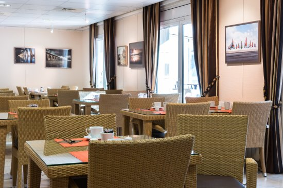 La Closerie Deauville Residence Hôtel : Salon petits déjeuners