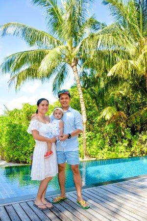 Shangri-La's Villingili Resort and Spa Maldives: Deluxe Pool Villa