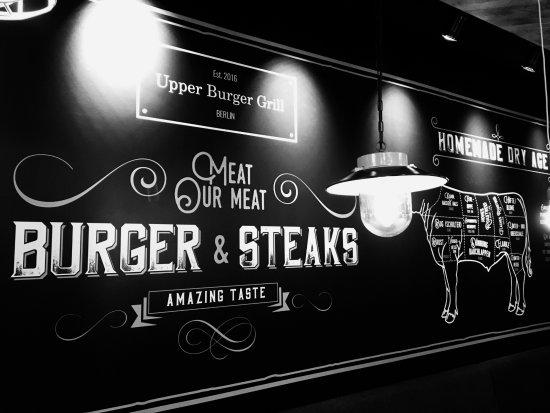 Upper Burger Grill: Einrichtung