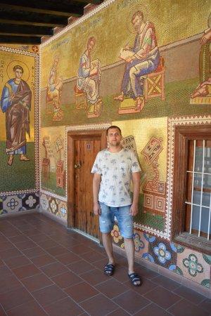 Troodos, Chipre: в монастыре