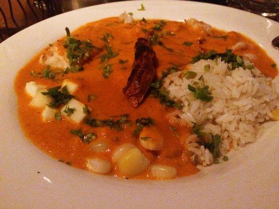 Jaguar Ceviche Spoon Bar and Latin Grill: Chupe de Camaron