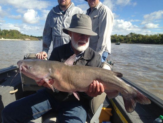 Selkirk, Canada: We guide for trophy channel catfish on the Red River Manitoba