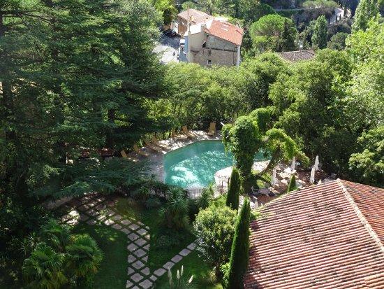 Molitg-les-Bains, Frankrig: vue depuis le donjon