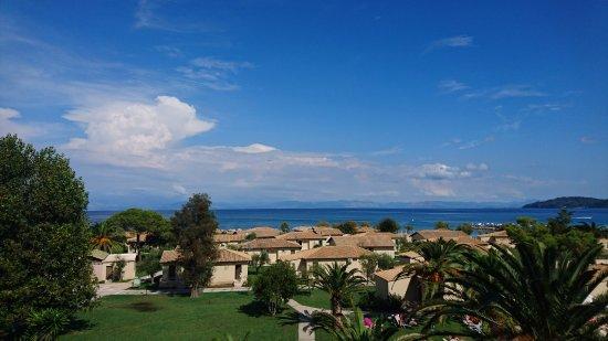 Moraitika, Grecia: Вид на море