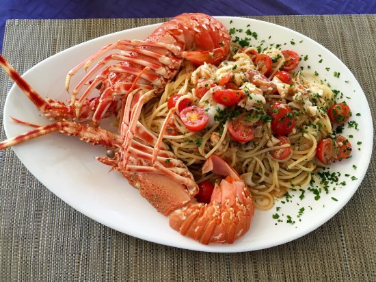 Il Kartell Restaurant: Pasta with local lobster