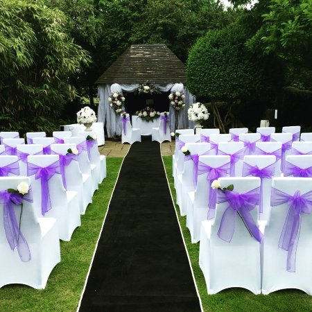 Falfield, UK: Wedding Gazebo