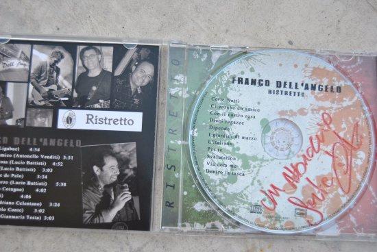 """Hotel de l'Ange: Le nouveau CD de Franco Fancello """"Ristreto"""""""