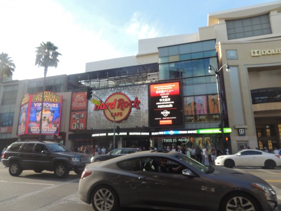 Hard Rock Cafe в Dolby Theater, Hollywood