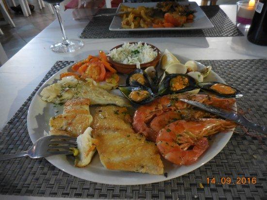 Guru: my seafood mixed platter