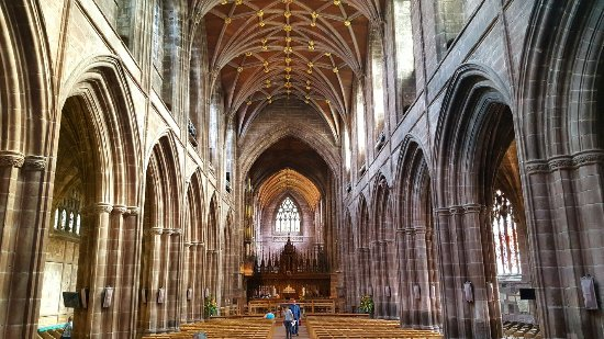 Chester Cathedral: Majestic.