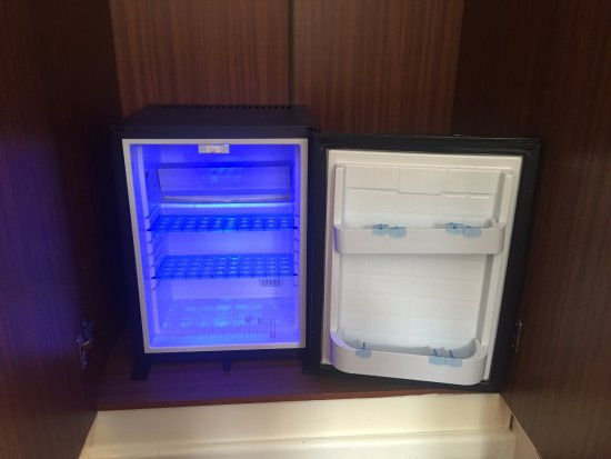 Chester House Guest House: Standard Room Mini Bar Fridge (All Rooms)