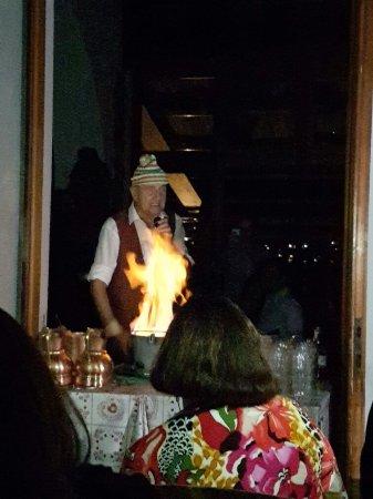 Ossuccio, Ιταλία: Il rito del fuoco
