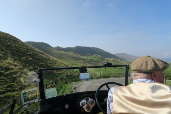 Winster, UK: Typical of the beautiful journey chosen for us.