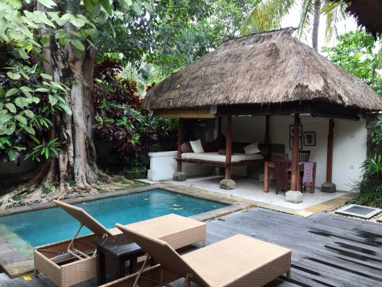 The Ubud Village Resort & Spa: Privater Pool direkt am Haus