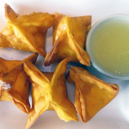 Arlington, MA: Just one more look at the Crab Rangoon...it was that good!!!!!