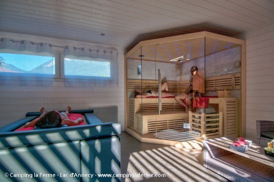 Privatisation de l 39 espace bien tre sauna matelas eau for Espace sauna hammam