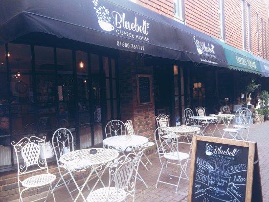 Tenterden, UK: Bluebell exterior