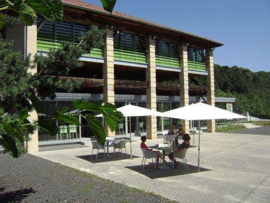 Vinay, France : Pause gourmande sur la terrasse du Grand Séchoir