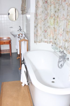 Sedgefield, Zuid-Afrika: Cottage bathroom