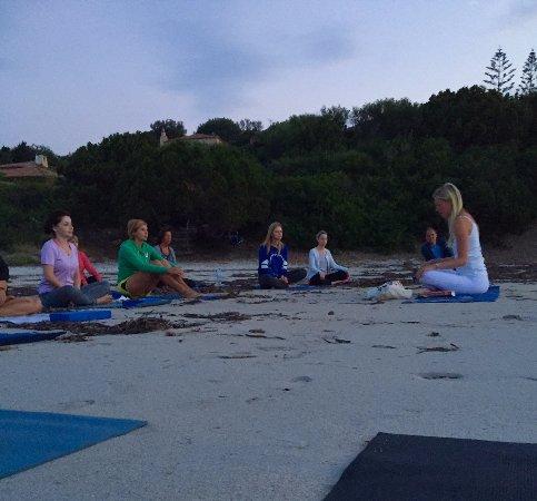 Grand Hotel in Porto Cervo: Sunrise Meditation